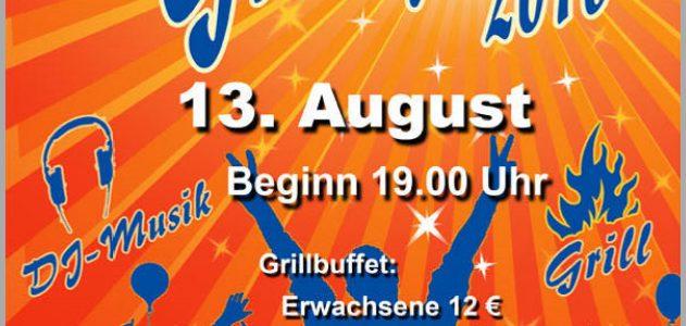 Sommerfest des SC Gothia