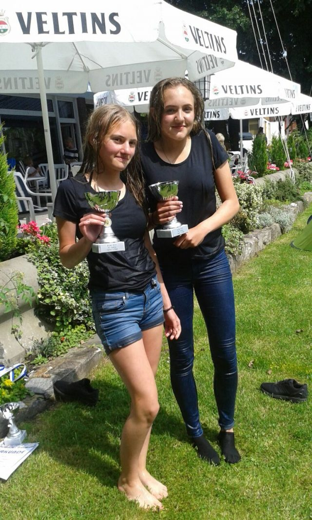 Berliner Jüngstenmeister im Teeny: Julia und Maria vom SC Gothia e.V. - Photo © SC Gothia / Iris