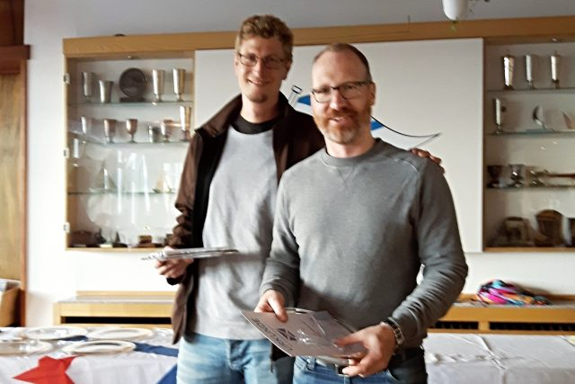 3. Platz bei der BM 2017 der Dyas: Philip Heldmann und Malte Hoge vom KAR - Photo © Melcher