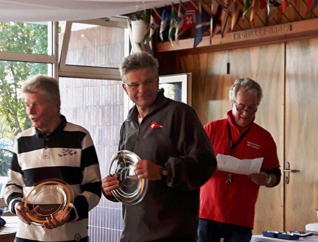 5. Platz bei der BM Dyas 2017: Bernd Gierlich und Johannes Weischede (SVSt) - Photo © Melcher