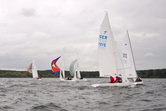 Berliner Meisterschaft 2017 der Dyas Klasse im Segler-Club Gothia e.V. - Photo © SailingAnarchy.de