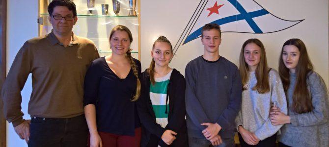 Neue Jugendvertretung des SC Gothia