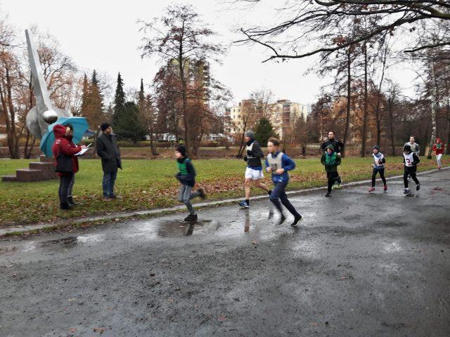 Neujahrslauf des SC Gothia 2019 - Fairer Sport unter den Augen des Jugendleiters! - Photo © SC Gothia