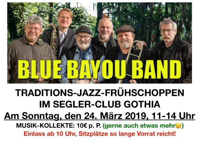 Blue Bayou Band - Herzlich Willkommen zu Musik im SC Gothia e.V.