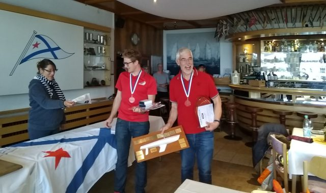 Berliner Meister der DYAS Klasse 2019: Thomas Eckardt (ASC) & Patrick Lukas (ASC) - Photo © Thomas Engel, SCG