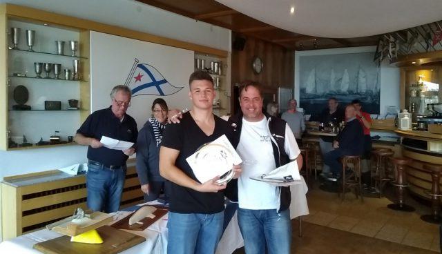 Berliner Meisterschaft 2019 der DYAS, Platz 3: Alexander & Andreas Romanowsky (beide SCG)