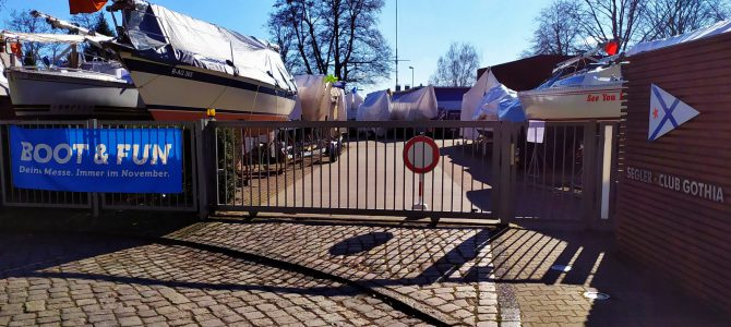 SC Gothia weiterhin geschlossen