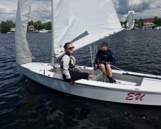 Johann und Paula im Pirat auf der Scharfen Lanke - Photo © H. Erdmann