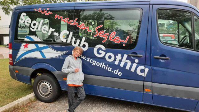 Gothenbus in Kiel - Photo © Karin Melchinger